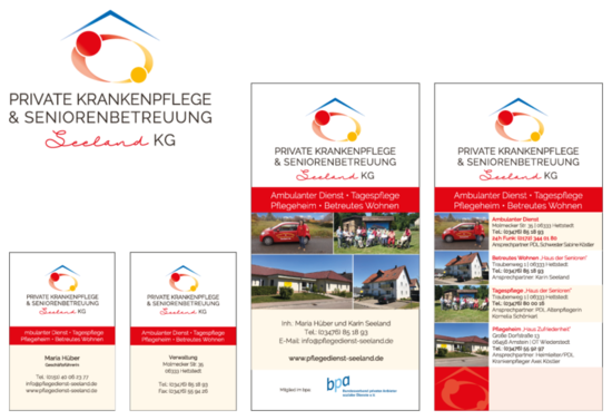 Corporate Design Krankenpflege Seeland