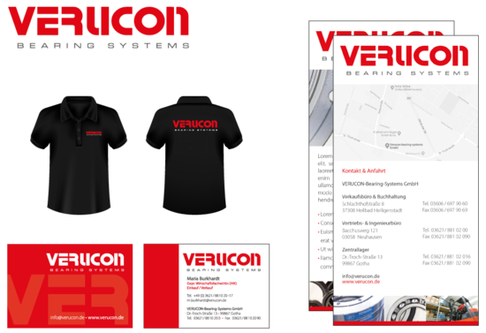 Corporate Design Verucon