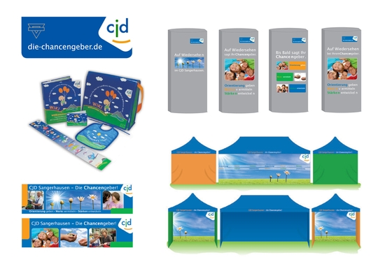 Corporate Design Betreuung CJD