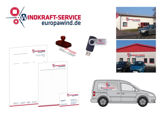Corporate Design Windkraft