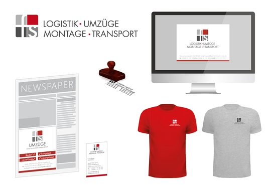 Corporate Design Logistik Montage