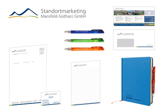 Corporate Design Standortmarketing